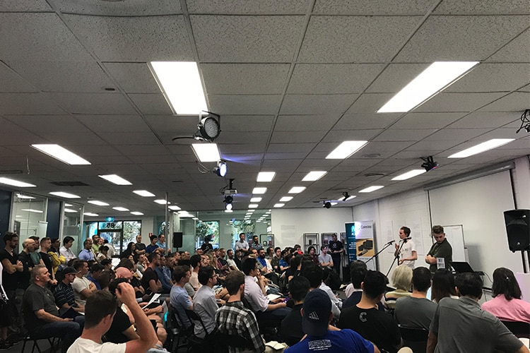 Blockchain Meetup Melbourne Jan 18