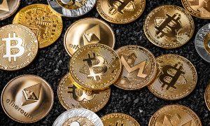 Cryptocurrencies Concept