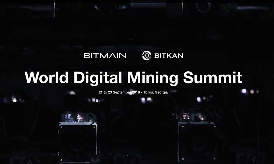 World Digital Mining Summit 2018 in Tbilisi, Georgia