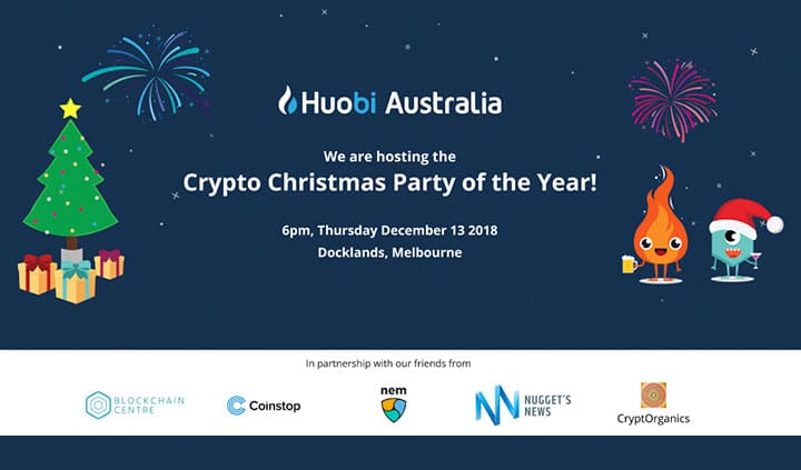 Huobi Australia Christmas Party 2018